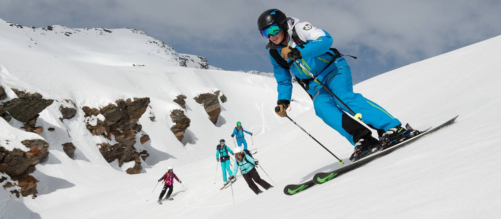 Ski lessons for intermediate and experts